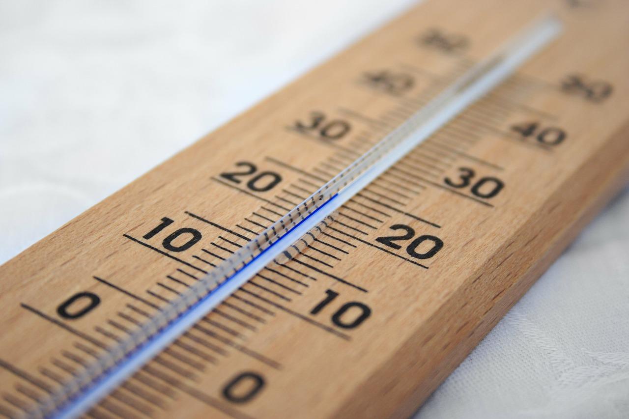 Thermometer im Kühlschrank